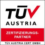 TÜV Zertifizierungspartner - X SIEBEN