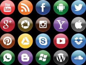 Facebook, Twitter, Youtube und Co. - X SIEBEN