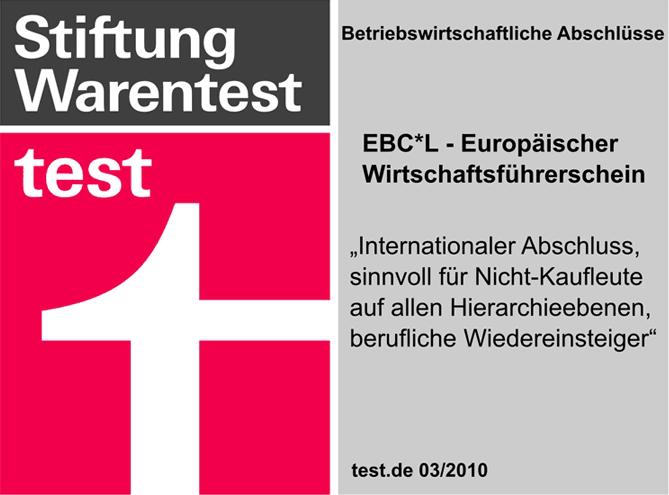 Stiftung Warentest - X SIEBEN EBC*L Kurse