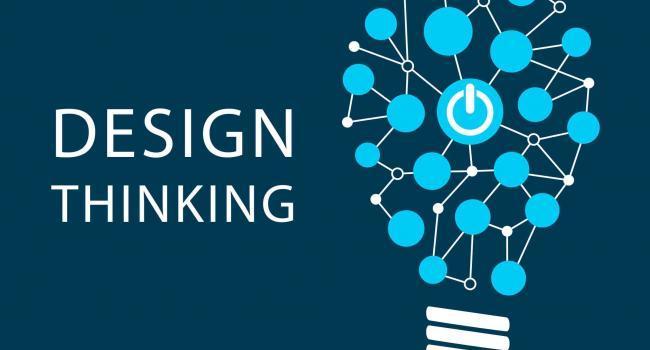 47923489 - design thinking concept. vector illustration background of new methodology for problem solving
