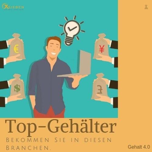 Top-Gehälter & Job - X SIEBEN