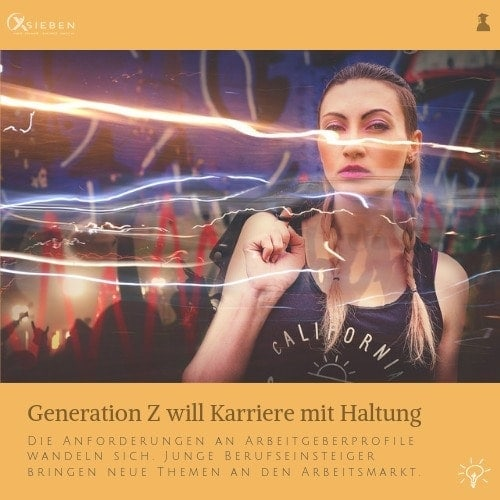 Generation Z & Job - X SIEBEN